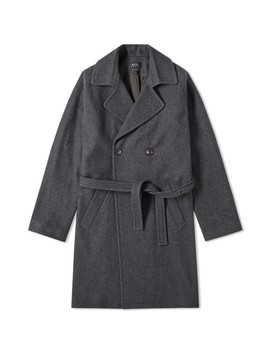 A.P.C. Double Breasted Wool Coat by A.P.C.