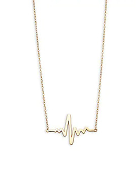 14 K Yellow Gold & Freshwater Pearl Necklace by Saks Fifth Avenue