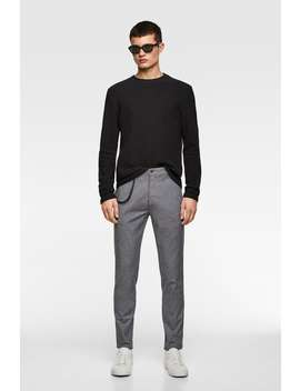Textured Trousers View All Trousers Man by Zara