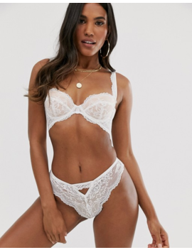 Asos Design Faye Underwire Lace Padded Bra by Asos Design