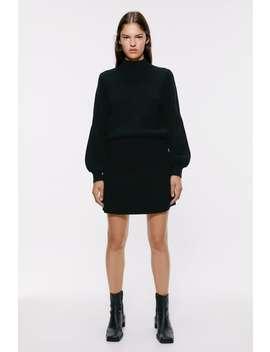 Pletena Mini Suknja BestsellersŽene by Zara