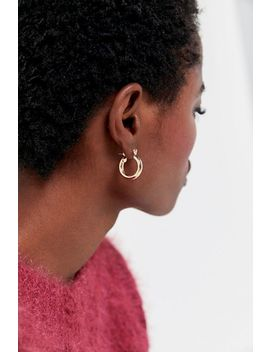 Clare Mini Hoop Earring by Urban Outfitters