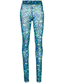 Leggings Con Stampa Floreale by Ganni