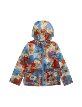 Floral Print Translucent Waterproof Raincoat by Mini Boden