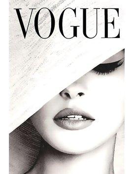 Vogue Covert Wall Art Poster by Martin Bertrand