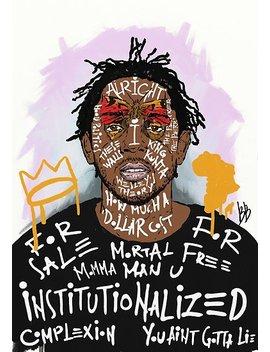 Kendrick Lamar Poster by Bokkaboom