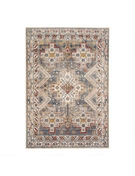 Gold Multicolor Medallion Rama Area Rug by World Market