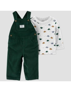Baby Boys' 2pc Dino Top & Bottom Sets   Just One You® Made By Carter's Green by Just One You® Made By Carter's Green