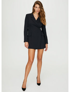 Blazer Wrap Dress by Babaton