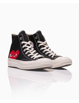 Chuck Taylor High Top Trainer by Comme Des Garcons Play