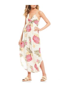 Like Minded Tropical Floral Maxi Dress by Billabong
