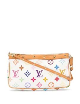 Monogrammed Pochette Handbag by Louis Vuitton Pre Owned
