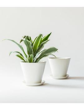 Small Minimal Planter by Etsy