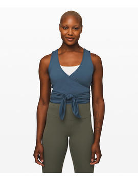 Twist Me Up Crop Tank New by Lululemon