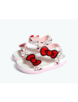 Charley Bow Pink X Hello Kitty® by Nativeshoes