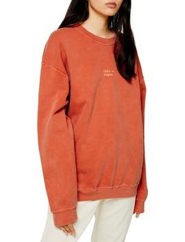 Make An Impact Sweatshirt by Topshop