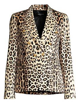 Sasha Leopard Print Blazer by Generation Love