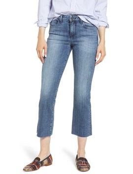 Kelsey Raw Hem Ankle Flare Jeans by Kut From The Kloth