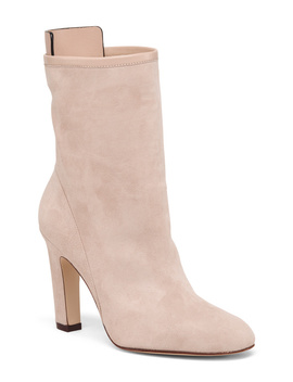 Made In Spain High Suede Booties by Tj Maxx