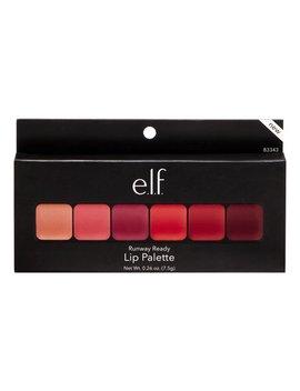 E.L.F. Lip Palette Runway Ready, 0.26 Oz by E.L.F. Cosmetics