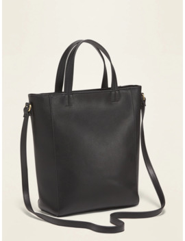 Faux Leather Mini Tote For Women by Old Navy