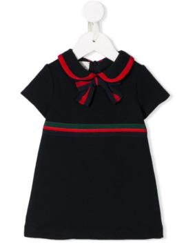 Formal Ribbon Dress by Gucci Kids