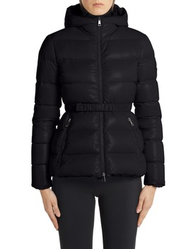 Rhin Hooded Quilted Down Puffer Jacket by Moncler