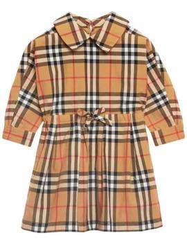 Vintage Check Dress by Burberry Kids