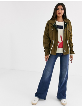 Maison Scotch Military Jacket With Drawcords by Maison Scotch