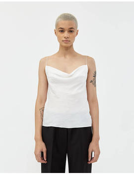 Ada Open Back Camisole In White by Stelen Stelen
