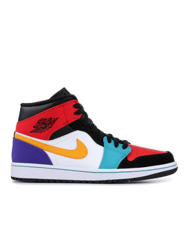 "Air Jordan 1 Mid ""Multi Color"" by Air Jordan"