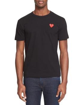 Cotton Jersey Slim Fit Crewneck T Shirt by Comme Des GarÇons Play