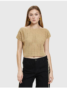 Shout Crochet Top by Rachel Comey Rachel Comey