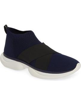 Mid Top Sock Sneaker by Tory Sport