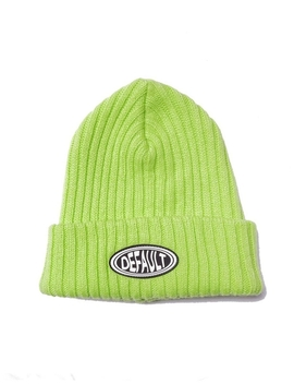 Logo Patch Beanie Lime by Default