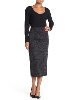 Ponte Knit Skirt by 14th & Union