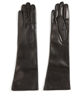 Long Leather Gloves by Holt Renfrew