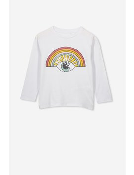 Stevie Ls Embellished Tee by Cotton On