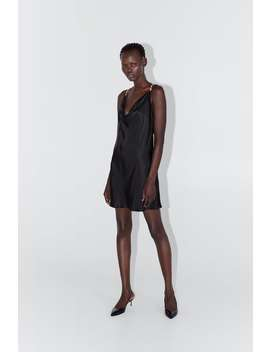 Mini Slip Dress Dress Timewoman Cornershops by Zara