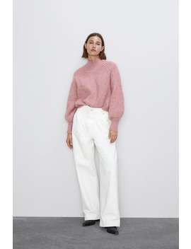 Balloon Sleeve Sweater New Inwoman by Zara