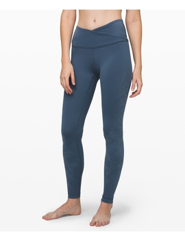"Always On High Rise Tight 28""Flocked Everlux New by Lululemon"