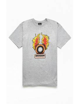 Bronson Speed Flames T Shirt by Pacsun