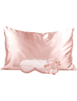 Satin Sleep Set In Blush by Kitsch