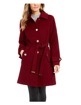 Belted Walker Coat, Created For Macy's by General