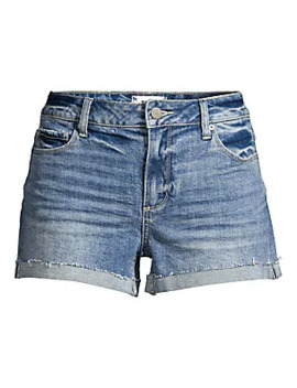 Jimmy Denim Cuff Shorts by Paige Jeans