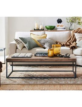Malcolm Coffee Table, Aged Umber by Pottery Barn