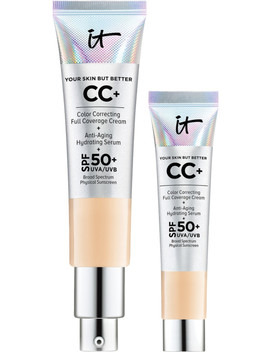 Complexion Perfection At Home & On The Go Your Life Changing Cc+ Cream Duo by It Cosmetics