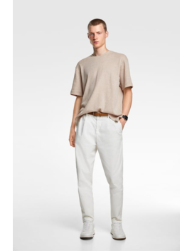 Waffle Textured T Shirt View All T Shirts Man by Zara