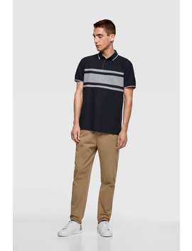 Striped Polo Sweater View All Polos Man by Zara