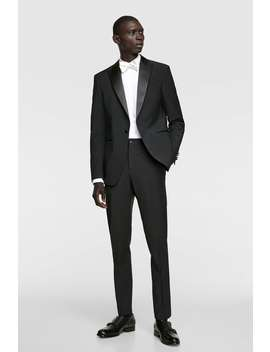 Tuxedo Jacket  View All Blazers Man by Zara